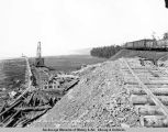 Coal dock site - Anchorage, Alaska. June 27th-1918.