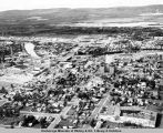 Aerial view of Fairbanks, Alaska.