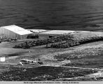 Galbraith Camp. This equipment came in either via Hercules aircraft or over land by ice train thru...