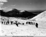Arctic Valley skiing, 2-26-50.