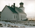Church of St. George, St. George Island, Alaska - 1986.