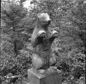 Grave totem of bear, Pennock Isl[and].
