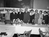 Alumni of U of A Dinner at Baranoff Hotel, June during session of 1951.