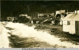 Seward waterfront, high tide, Nov. 1914.