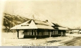 Government R[ailwa]y depot at Seward, Alaska.