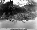 Aerial view of Seward, Alaska, May 26, 1941.