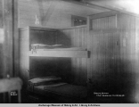 Spring bunks, Army barracks, Anchorage.