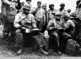 Black troops in Aleutians.