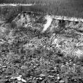 Land slide of E.Q. [Earthquake] '64.