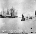 Keystone Ave., Valdez, from near the corner of McKinley St. looking toward the glacier, Feb. 8,...