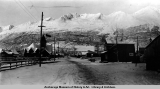 Valdez, Nov. 1909, 1st snow.