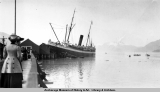S.S. Mariposa at Valdez dock.