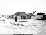 Flood picture, Valdez, 1911.