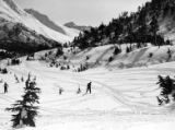 Skiers at Grandview, 1944