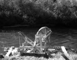Fish wheel on Mendeltna Creek