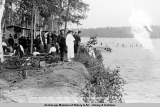 Lake Spenard, Anchorage's bathing resort.