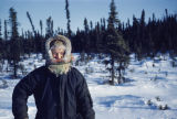 Vi Redington on the Iditarod Trail.