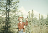 Vi Redington hunting.