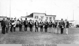 City band, Anchorage, 1918.