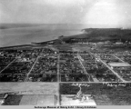 Aerial view of Anchorage, 1925.