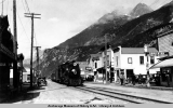 Broadway, Skagway, looking north.