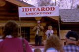 Iditarod Race headquarters dedication.