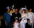 Wedding party of Joe Redington Jr. and Thela Redington.