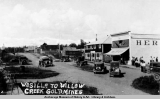 Wasilla to Willow Creek Gold Mines.