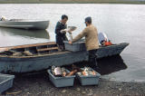 Fishing in Unalakleet.