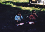 Ann and Teddy Nesja enjoy a picnic in Knik.