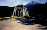 Taiya River bridge on the Chilkoot Trail.