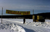Iditarod Trail Centennial Race start line.