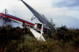 Airplane crash, when Joe Redington Sr. was returning from Emmonak.