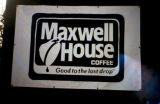 Maxwell House coffee.