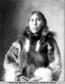 Chief Squaw of the Eskimos, Cape Prince of Wales, Nome, Alaska.