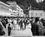 Fourth of July parade, Juneau, 1959.