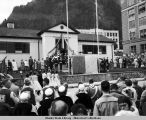 Statehood celebration, Juneau, July 4, 1959.