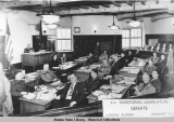 21st Territorial Legislature, Senate, Juneau, Alaska, January, 1953.