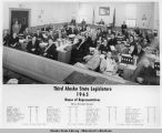 Third Alaska State Legislature, House of Representatives, 1963.