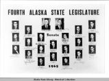 Fourth Alaska State Legislature, Senate, 1965.