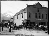 Burkhard House  and Yukon Outfitters, Skagway.