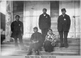 Indian Police Force, Sitka 1881.