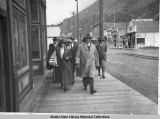 President and Mrs. Harding in Skagway.