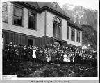 Fifth Street School, Juneau, ca. 1903.
