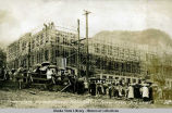 Cornerstone services, Juneau Public School, June 5, 1917.
