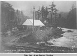 Halfway house between Canyon City and Sheep Camp, Chilkoot Trail, Alaska, 1898.