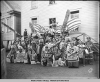 Guests from Angoon at 1904 Sitka potlatch.
