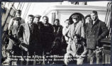 Survivors of the S.S. KARLUK of the Canadian Arctic Expedition, ca. 1914.