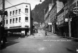 Front and Franklin Streets, Juneau, Alaska.