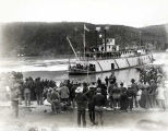 S. S. JOHN C. BARR arrival at Dawson City.